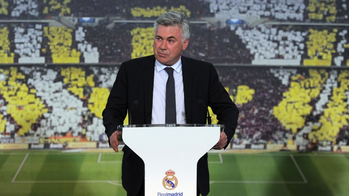 Ancelotti: Cherishing the talent at his disposal