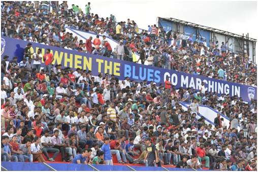 Considering it's just their debut season in I- League, BFC's home support has been remarkable