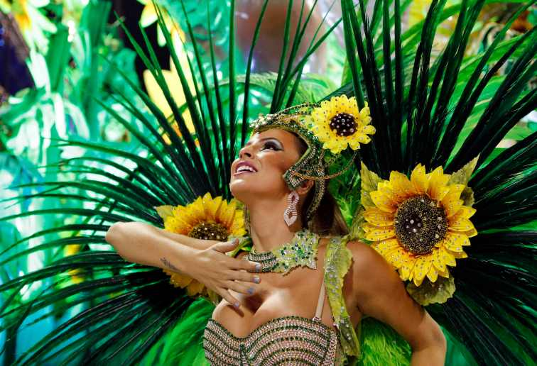 Carnival is in the blood of Brazilians