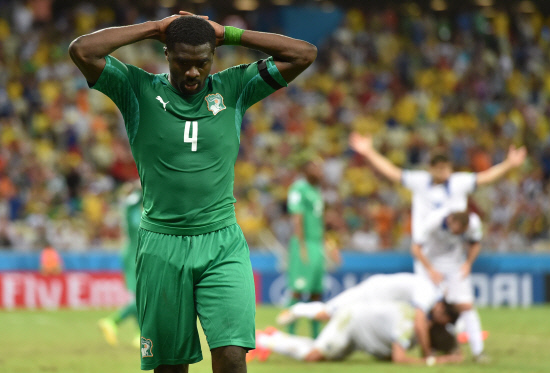 Ivory Coast crashes out from the World Cup 2014