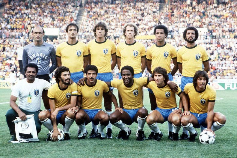Brazilian World Cup Squad in 1982