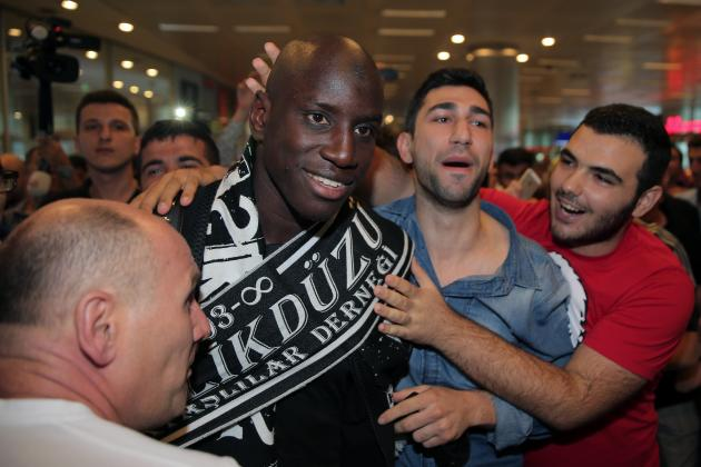 Demba Ba might cause some trouble to Arsenal