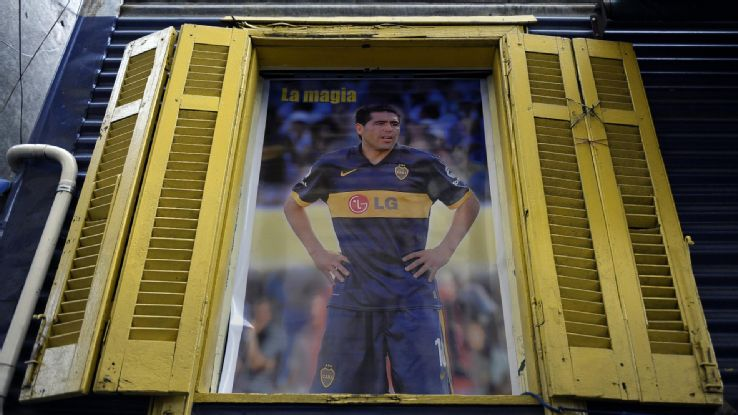 Riquelme is part of Argentina's pop culture