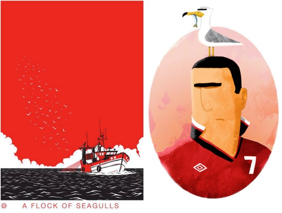 Dan's illustration about Cantona's psyche