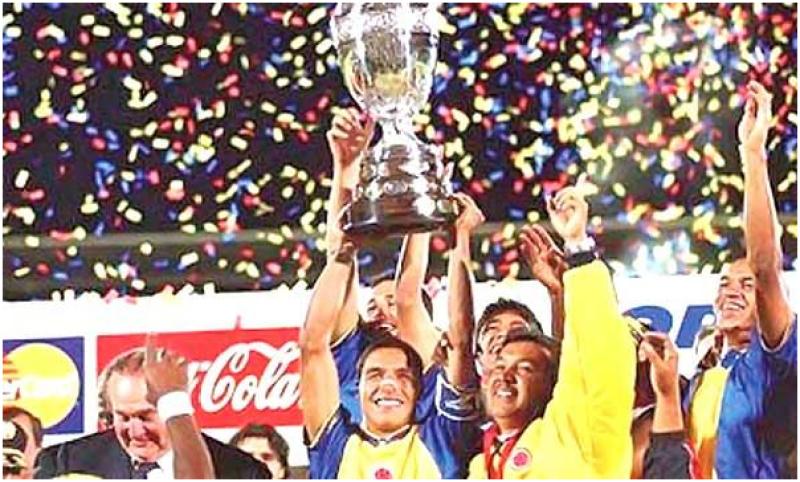 Colombia, Copa America Champions, 2001