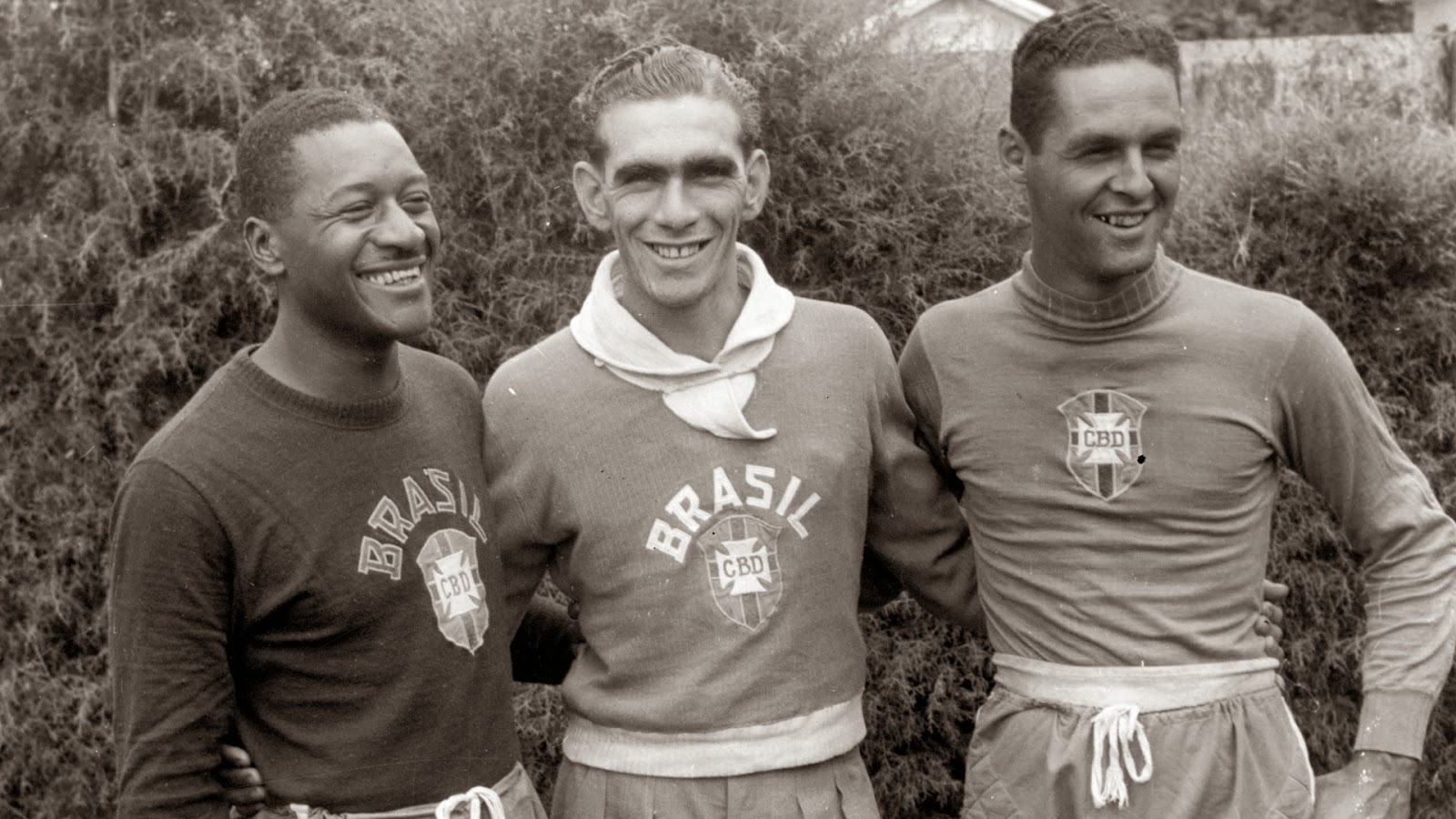Moacir Barbosa, Carlos Castilho and Gylmar-dos Santos, 1953. [Source: Folhapress]