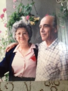 Lina with her husband