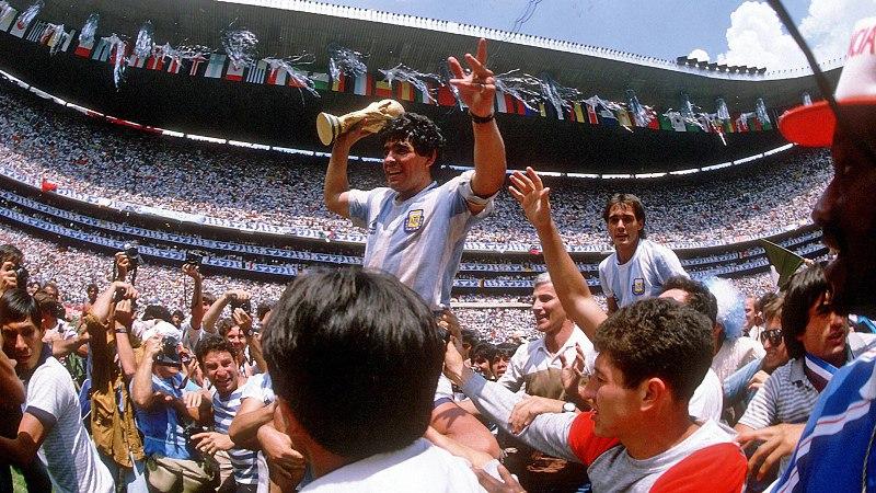 Maradona_Pokal_1986_imago