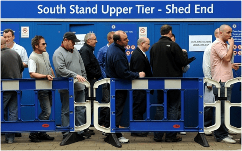 Chelsea and most of the top clubs have kept their ticket prices unchanged