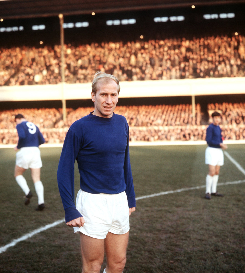 Bobby Charlton Manchester United legend with 249 goals The