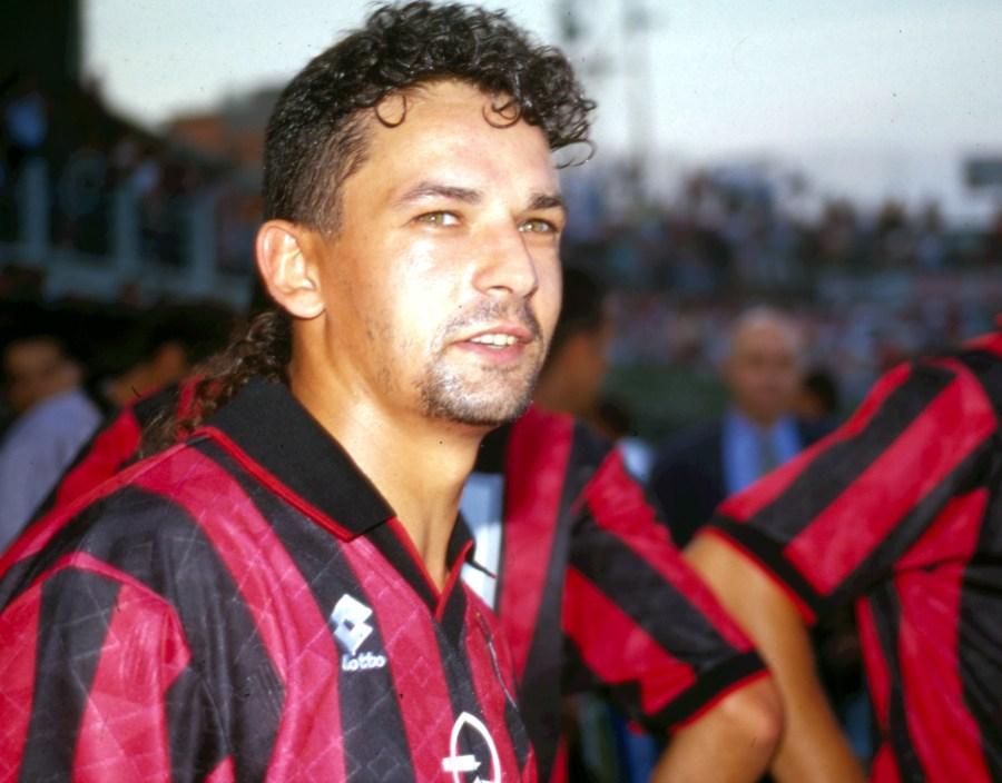 © Archivio LaPresse 29-08-1996 Milano, Italia Calcio Nella foto: ROBERTO BAGGIO.
