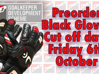 GDS Black Gloves preorder