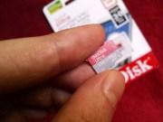 SanDisk 256GB microSDXC card