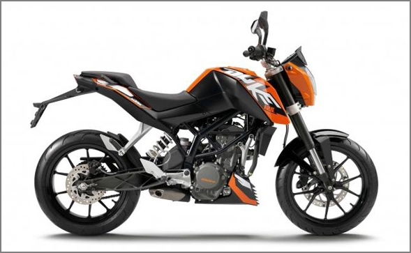 Bajaj to launch KTM Duke 125 by December