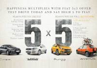 FIAT 5x5 offer Goa