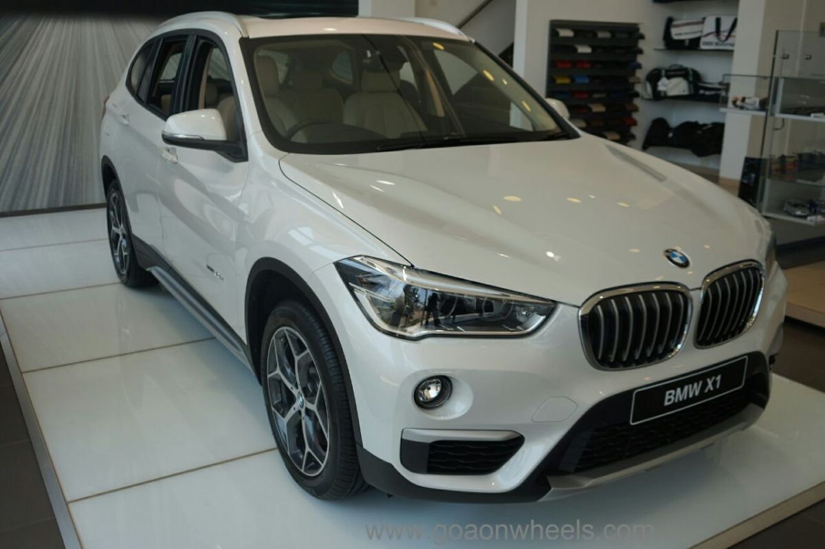 All New BMW X1 displayed at a special preview at the Goa Showroom