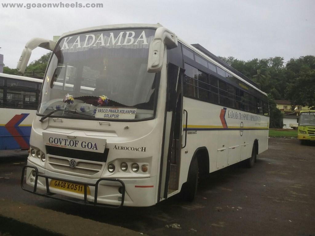 Kadamba Transport Corporation introduces new luxury bus on Solaphur route