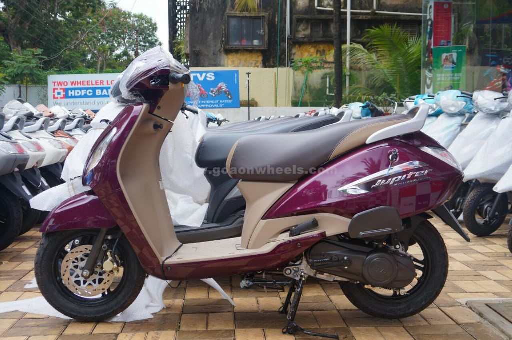Tvs Jupiter Millionr Special Edition Launched In Goa