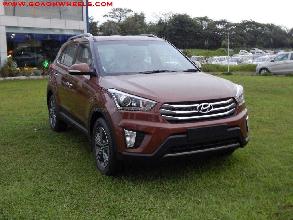 Hyundai Creta Earth Brown color introduced in Goa