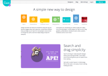 Canva front page