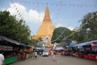 The Annual Nakhom Pathom Temple Festival