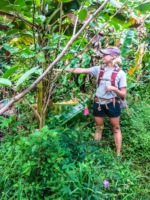 Our guide, Kate