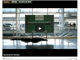 "Heineken's ""Departure Roulette"" Challenges Travelers to Step Into the Unknown"