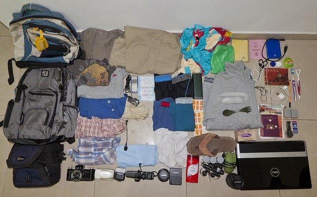 Packing list (photo: Nestor Lacle)