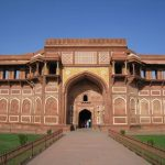 The Red Fort in Agra, India