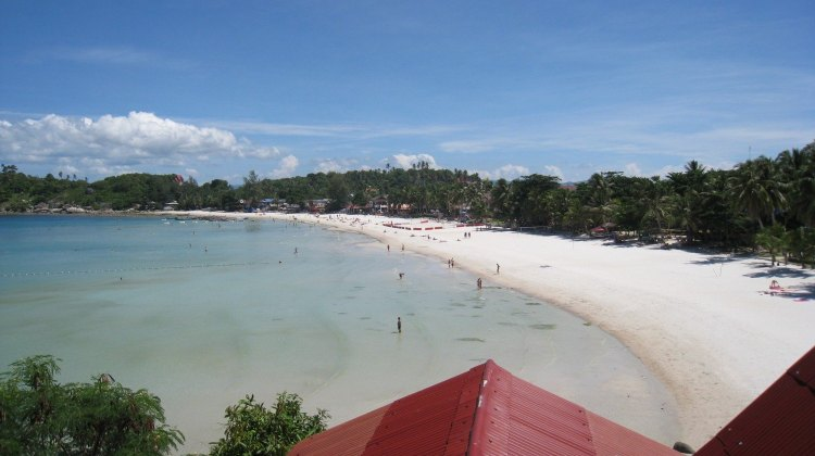 Haad Rin Beach on Koh Phangan