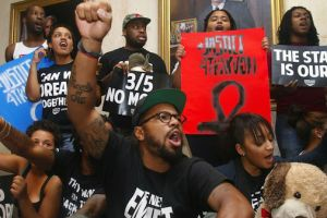 Dream Defenders Stand Their Ground Until 'Stand Your Ground' is Repealed