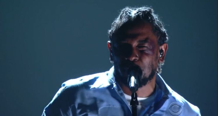 Kendrick Lamar's 2016 Grammy Performance