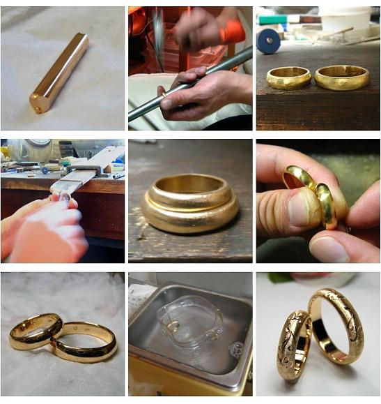 持ち込みデザインの結婚指輪・制作