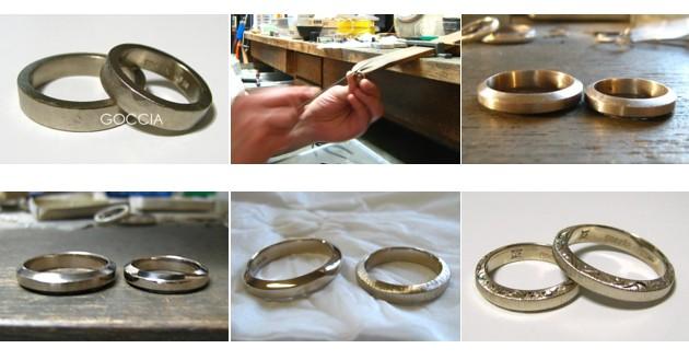 結婚指輪を制作・オーダーメイド