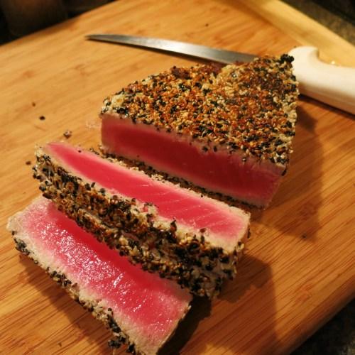Medium Of Baked Tuna Steak Recipe