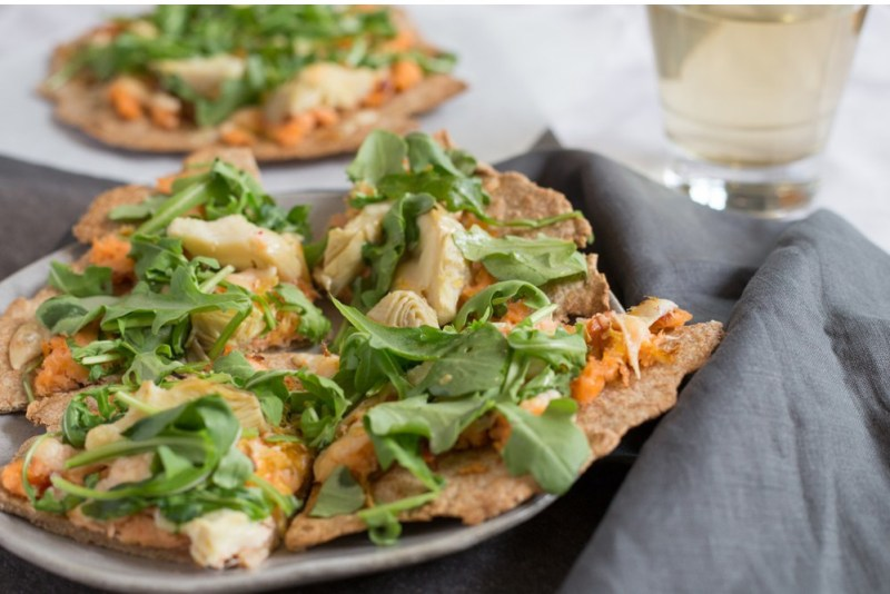 superfood flatbread recipe
