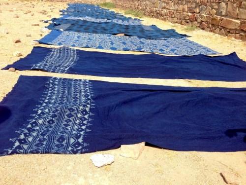 indigo-curtains-drying-ichcha