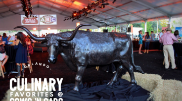Orlando Culinary Favorites at Cows N Cabs Charity Event