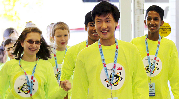 Finalists from 2013 Discovery 3M Young Scientist Challenge
