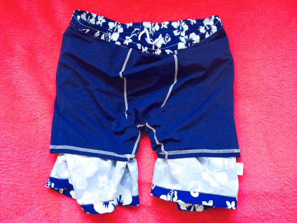 lining of the coastal dog swimsuit