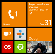 voicemail and missed text messages, windows mobile