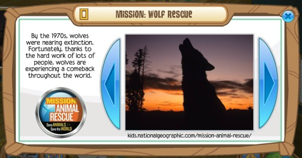 animal jam mission wolf rescue