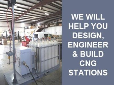 CNG Consultation we will help you design, engineer and build your CNG station   Go Freedom Fuel