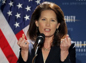 Republican Presidential Candidate Michele Bachmann
