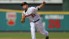 Rochester Red Wings Pitcher Pat Dean