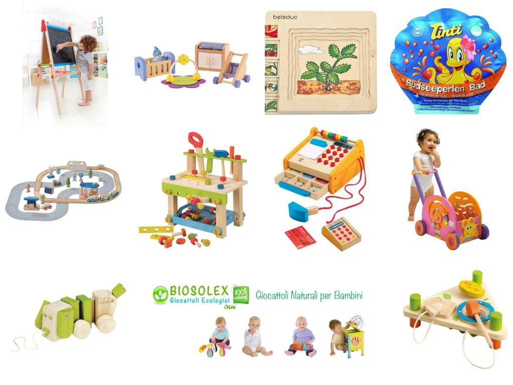 Da Biosolex giochi ecologici e in più un regalo ecologico