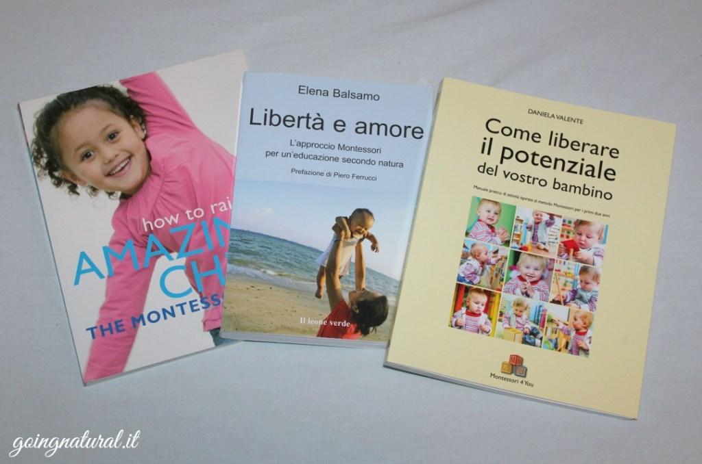 Metodo Montessori in pratica : libri consigliati & wishlist