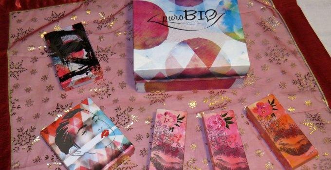 Regali bio Natale 2016 : le confezioni regalo Purobio Cosmetics