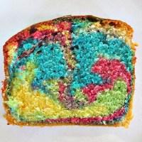 Papageienkuchen, Regenbogenkuchen, Bunter Kuchen, Einfacher Kuchen Kindergeburtstag