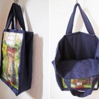 Tasche, Plastiktüte, Upcycling, idee, Recycling, Diy, Selbermachen, Tote Bag, Selber Nähen, Geschenk, Findus